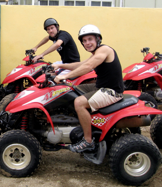 ATVs in Aruba