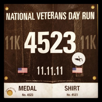 National Veterans Day Run